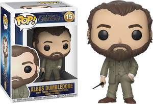 Pop! Movies: Fantastic Beasts 2 The Crimes of Grindelwald - Albus Dumbledore - Sheldonet Toy Store