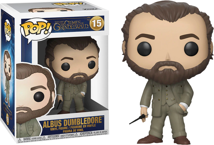 Pop! Movies: Fantastic Beasts 2 The Crimes of Grindelwald - Albus Dumbledore