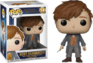 Pop! Movies: Fantastic Beasts 2 The Crimes of Grindelwald - Newt Scamander - Sheldonet Toy Store