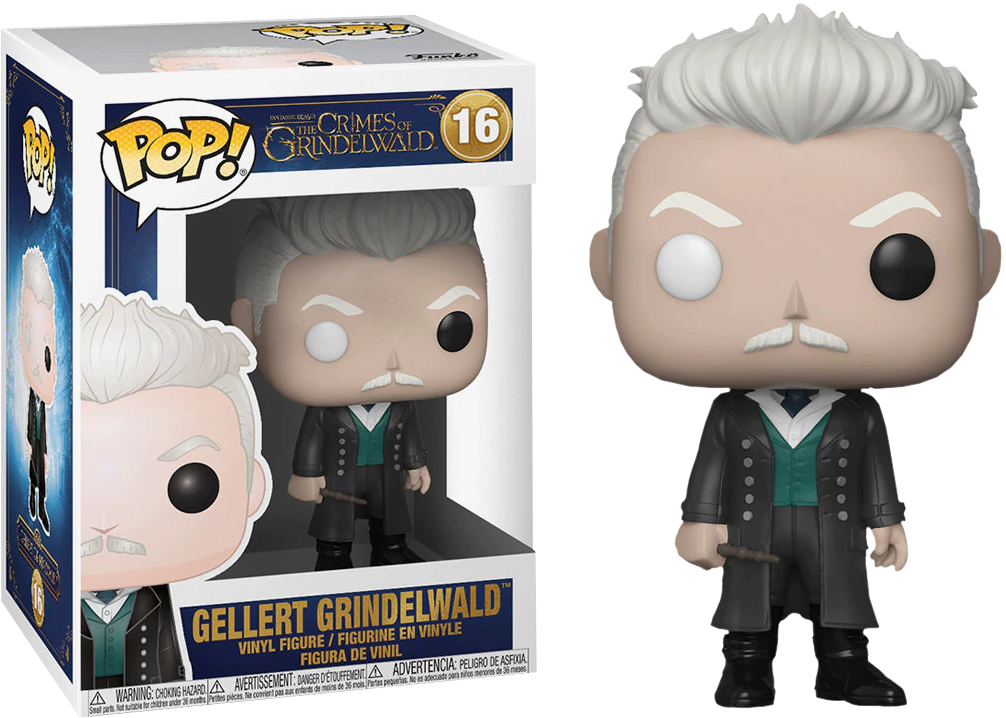 Pop! Movies: Fantastic Beasts 2 The Crimes of Grindelwald - Gellert Grindelwald - Sheldonet Toy Store