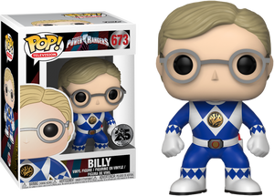 Pop! TV: Saban's Power Rangers - Unmasked Billy - Sheldonet Toy Store