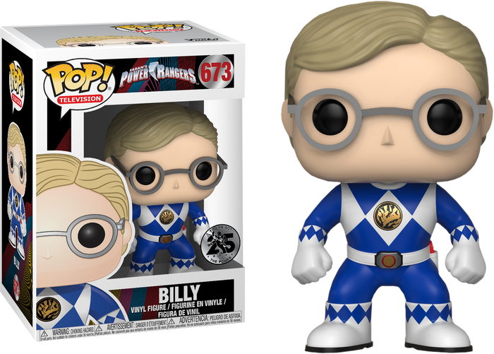 Pop! TV: Saban's Power Rangers - Unmasked Billy