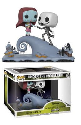 POP! Disney : Movie Moments - Nightmare Before Christmas - Jack & Sally On The Hill - Sheldonet Toy Store