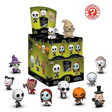 MYSTERY MINI: NIGHTMARE BEFORE CHRISTMAS - 12 PCs - Sheldonet Toy Store