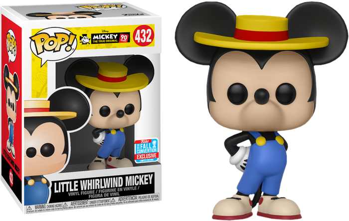 Pop! Disney: Mickey's 90th - Little Whirlwind Mickey [NYCC 2018 Exclusive]