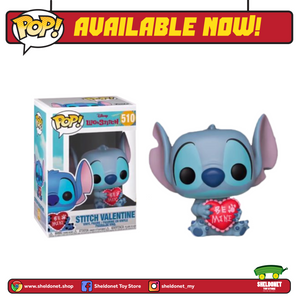POP! Disney : Lilo & Stitch - Stitch Valentine (Exclusive) - Sheldonet Toy Store