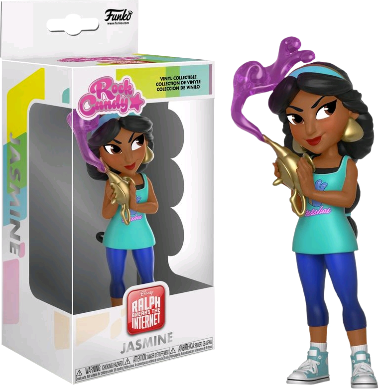 Rock Candy: Comfy Princess - Jasmine - Sheldonet Toy Store