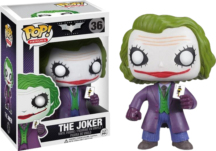 Pop! Heroes: Batman: The Dark Knight - The Joker