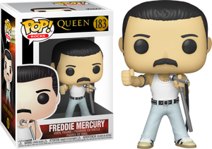 Pop! Rocks: Queen - Freddie Mercury Radio Gaga Live Aid 1985 - Sheldonet Toy Store