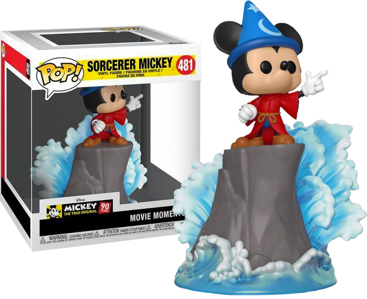 POP! Disney : Movie Moments - Mickey's 90th Anniversary - Fantasia Sorcerer Mickey - Sheldonet Toy Store