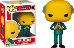 Pop! TV: The Simpsons - Mr. Burns - Sheldonet Toy Store