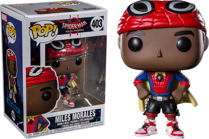 Pop! Marvel: Into the Spider-verse - Miles Morales