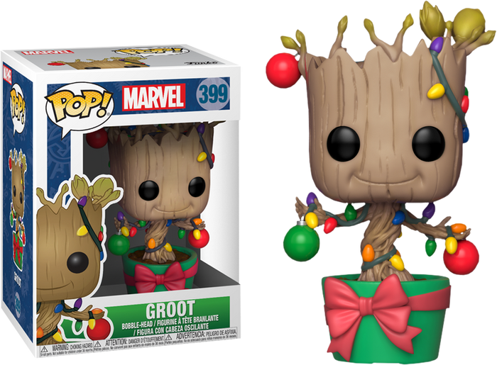 POP! Marvel: Holiday - Groot w- Lights & Ornaments