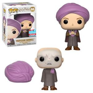 Pop! Movies: Harry Potter - Professor Quirell [NYCC 2018 Exclusive] - Sheldonet Toy Store