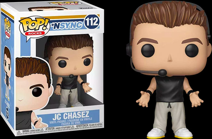 POP! Rocks: NSYNC - JC Chasez