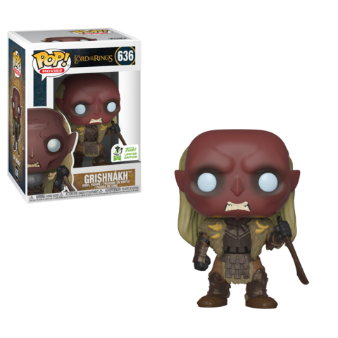 POP! Movies: Lord of The Rings - Grishnakh [ECCC 2019 Spring Convention] - Sheldonet Toy Store