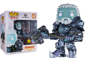 "Pop! Games: Overwatch - Reinhardt 6"" Inch [NYCC 2018 Exclusive] - Sheldonet Toy Store"
