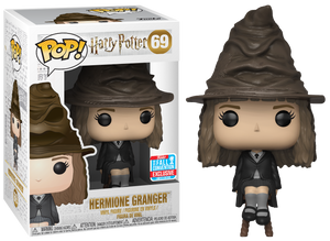Pop! Movies: Harry Potter - Hermione Granger w- Sorting Hat [NYCC 2018 Exclusive] - Sheldonet Toy Store