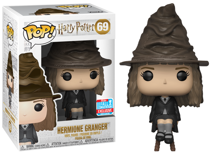 Pop! Movies: Harry Potter - Hermione Granger w- Sorting Hat [NYCC 2018 Exclusive]