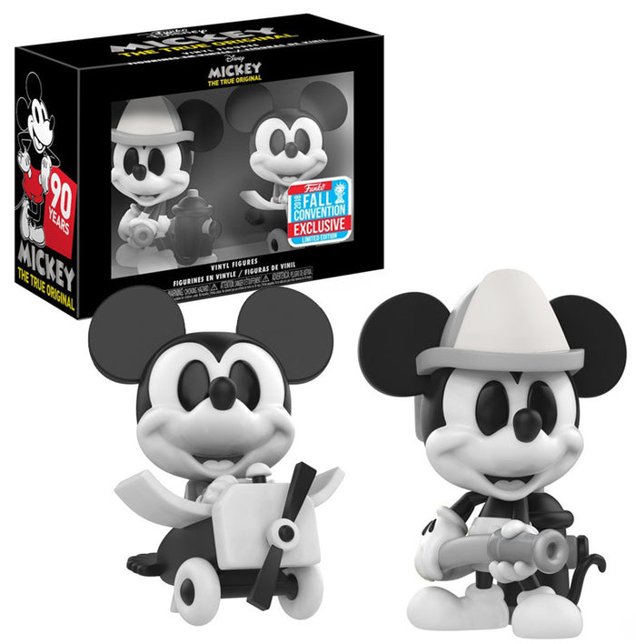 Pop! Mini Vinyl Figures: Disney - Mickey Mouse (2-pack) [NYCC 2018 Exclusive]