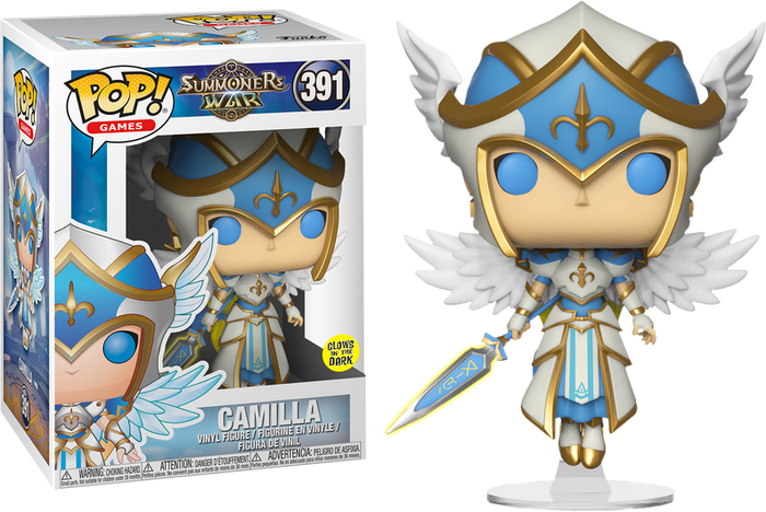 POP! Games: Summoner's War - Camilla (Glow-In-The-Dark)
