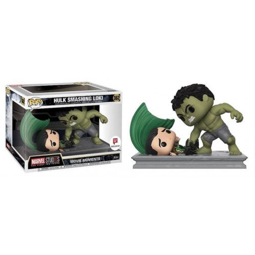 Pop! Movies: Marvel Movie Moments - Hulk Smashing Loki - Sheldonet Toy Store