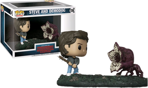 Pop! TV Moments: Stranger Things - Steve And Demodog - Sheldonet Toy Store