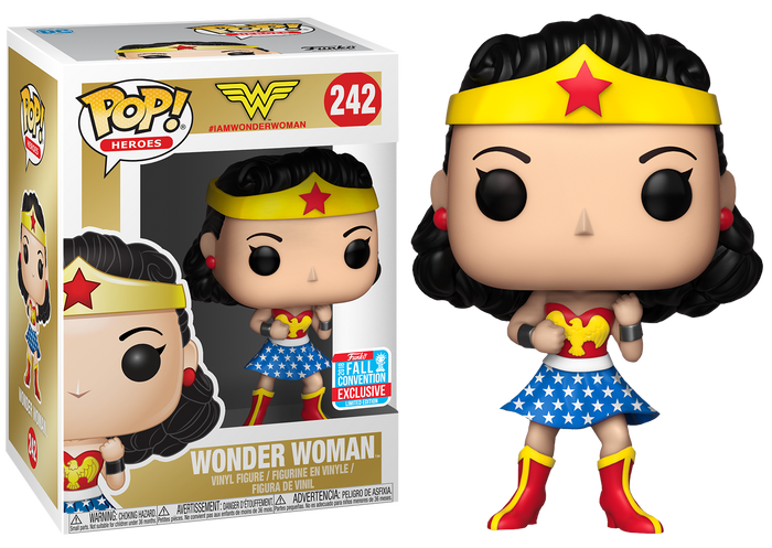 Pop! Heroes: DC - 1st Appearance Wonder Woman [NYCC 2018 Exclusive]