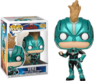Pop! Marvel: Captain Marvel (2019) - Vers (Masked) [Exclusive] - Sheldonet Toy Store