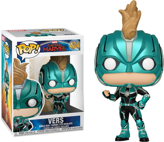 Pop! Marvel: Captain Marvel (2019) - Vers (Masked) [Exclusive]