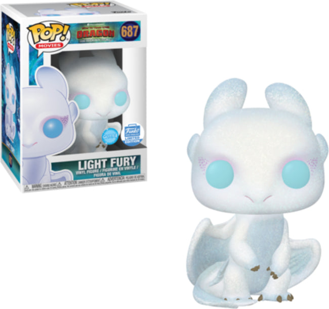 POP! Movies: How To Train Your Dragon 3 - Light Fury Diamond Glitter [Exclusive]