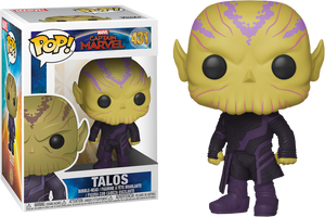 Pop! Marvel: Captain Marvel (2019) - Talos - Sheldonet Toy Store