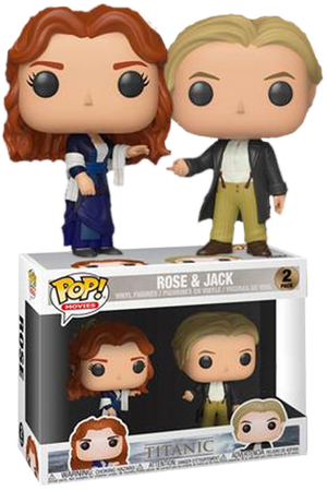 Pop! Movies: Titanic - Jack & Rose (2-Pack) [Exclusive] - Sheldonet Toy Store
