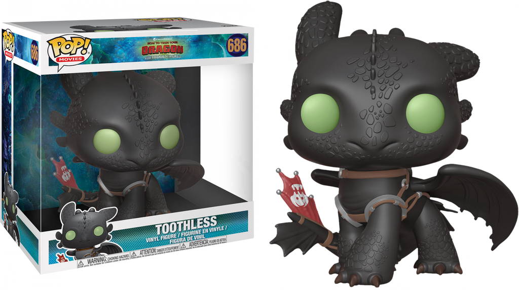 "POP! Movies: How To Train Your Dragon 3 - Toothless 10"" Inch (Exclusive) - Sheldonet Toy Store"