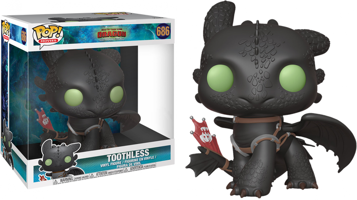 "POP! Movies: How To Train Your Dragon 3 - Toothless 10"" Inch (Exclusive)"