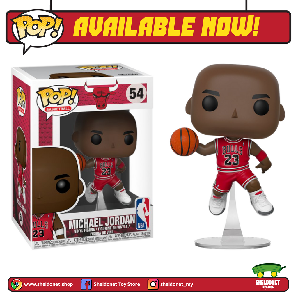 POP! NBA: Chicago Bulls - Michael Jordan - Sheldonet Toy Store