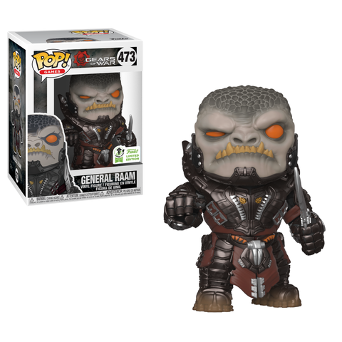 POP! Games: Gears of War - General Raam [ECCC 2019 Spring Convention] - Sheldonet Toy Store