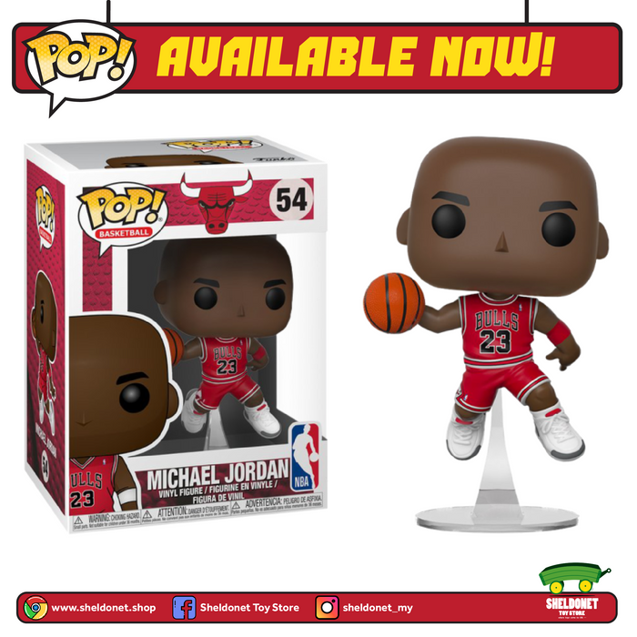 POP! NBA: Chicago Bulls - Michael Jordan