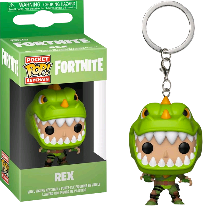 Pocket Pop! Games: Fortnite - Rex
