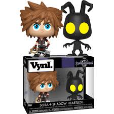 Pop! VYNL Games: Kingdom Hearts III - Sora And Heartless (2-Pack) - Sheldonet Toy Store