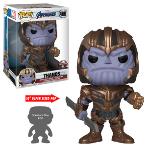 "POP! Marvel: Avengers: End Game - Thanos 10"" Inch  [Exclusive] - Sheldonet Toy Store"