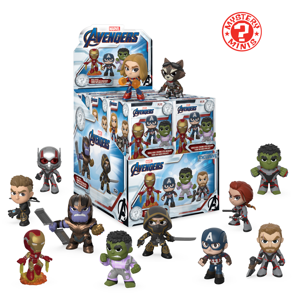 Mystery Minis Blind Box: Marvel - Avengers: End Game [Exclusive] - Sheldonet Toy Store
