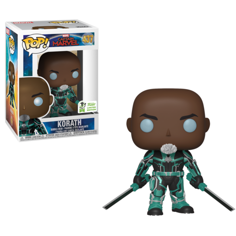 POP! Marvel: Captain Marvel - Korath The Pursuer [ECCC 2019 Spring Convention]