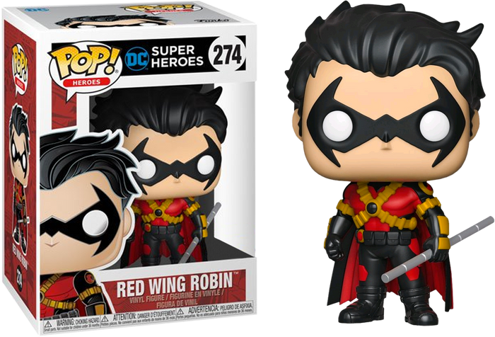 Pop! Heroes: Red Wing Robin [Exclusive]