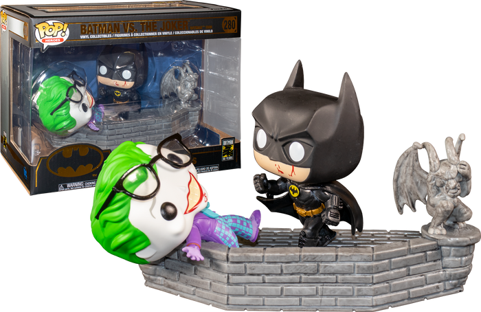 Pop! Movie Moment: Batman 80th Anniversary - Batman & Joker