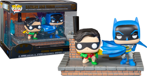Pop! Comic Moment: Batman 80th Anniversary - Batman & Robin New Look - Sheldonet Toy Store