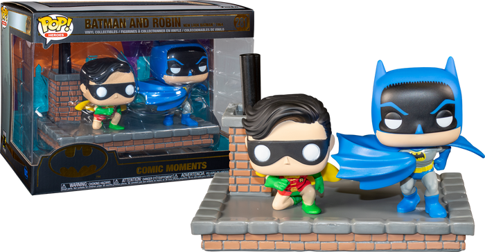 Pop! Comic Moment: Batman 80th Anniversary - Batman & Robin New Look