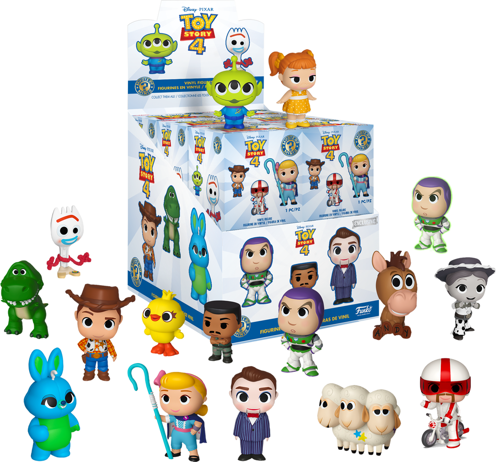 Mystery Minis Blind Box - Toy Story 4 [Exclusive] - Sheldonet Toy Store