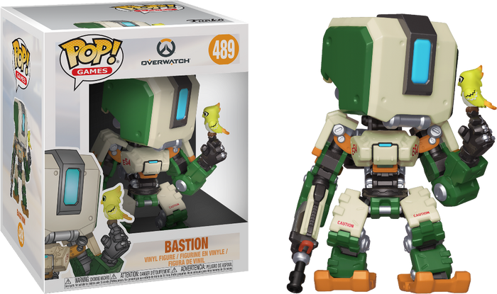 "POP! Games: Overwatch -  Bastion 6"" Inch"