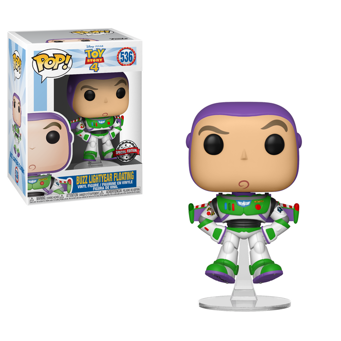Pop! Disney: Toy Story 4 - Buzz Lightyear Floating (Exclusive)